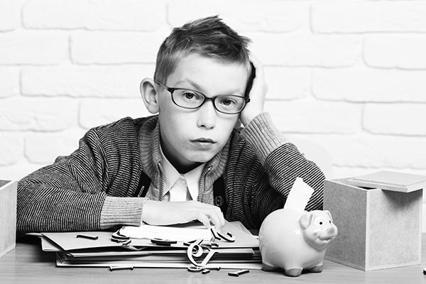 Jugendliche sind bei Finanzthemen unsicher