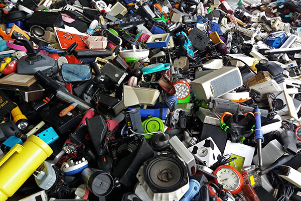 10 Kilogramm Elektroabfall pro Kopf in Deutschland im Jahr 2017